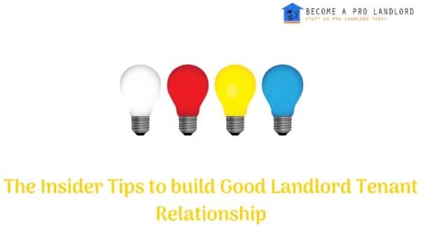 Landlord Tenant Relationship