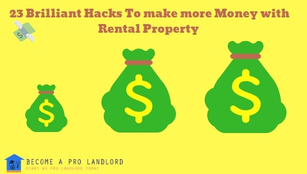 Make more money with rental property
