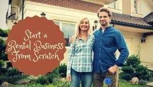 Start a property rental business