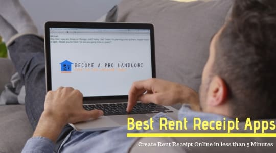 Create Rent Receipt online