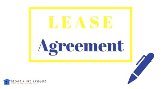 How to write Residential lease