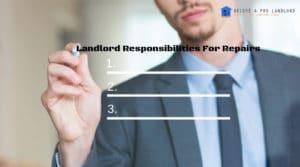Landlord Responsibilities for Repairs