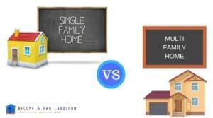 Single Family Vs Multi Family Investment