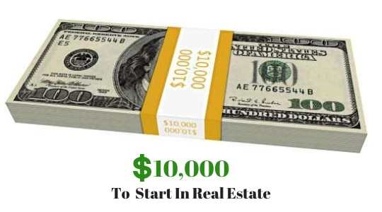 Is $10000 Enough To Start in Real Estate