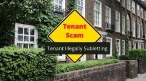 tenant illegally subletting