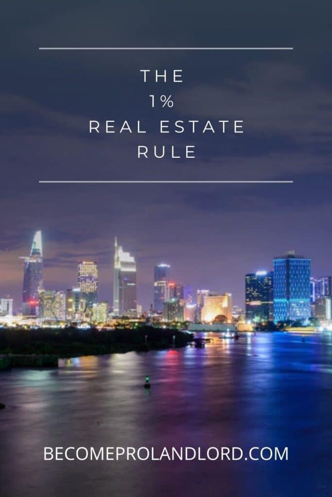 1% Rule in Real Estate
