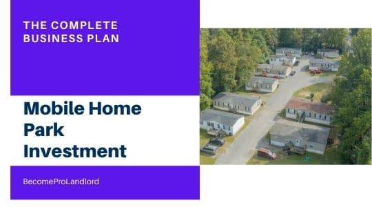 Investing in a mobile home park